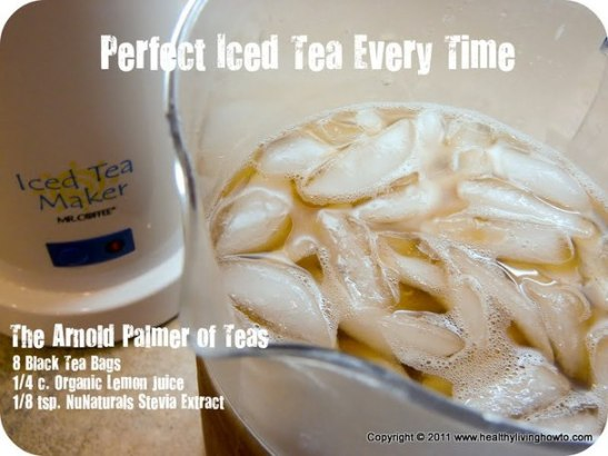Organic Iced Tea, Black Tea, Arnold Palmer