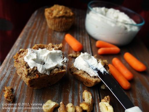 Raw Vegan Almond Cream Cheese Image