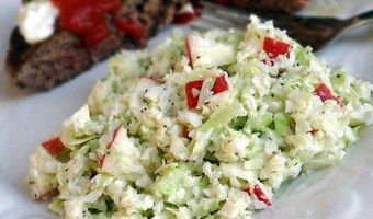 Sweet & Sour Apple Slaw
