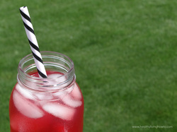 Pomegranate Iced Green Tea