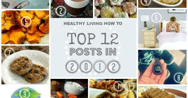 Top 12 Posts in 2012 from Healthy Living How To