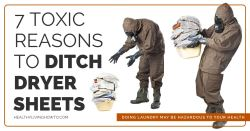 7 Toxic Reasons to Ditch Dryer Sheets | healthylivinghowto.com