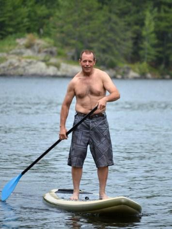 Paddle Boarding Bob