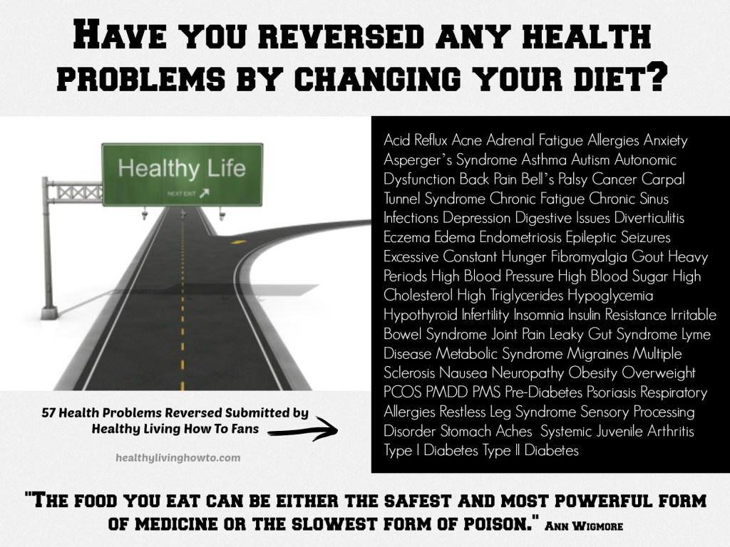 Reversed Healthy Problems
