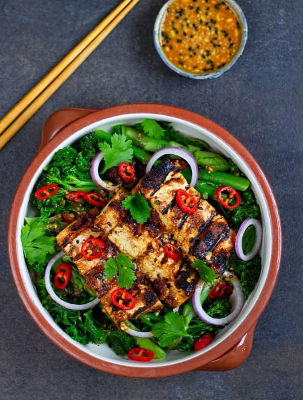 crispy tofu top
