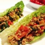 Asian-Inspired Lettuce Boat Recipe