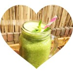 pineapple and mint smoothie