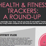 Healthy Living London's Fitness Tracker Comparison 2014 [infographic]
