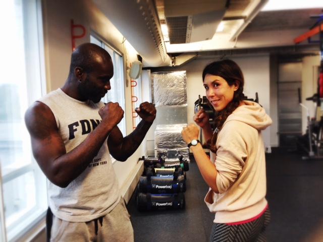 boxing at fitness mosaic