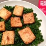 Tofu & Miso Kale Salad