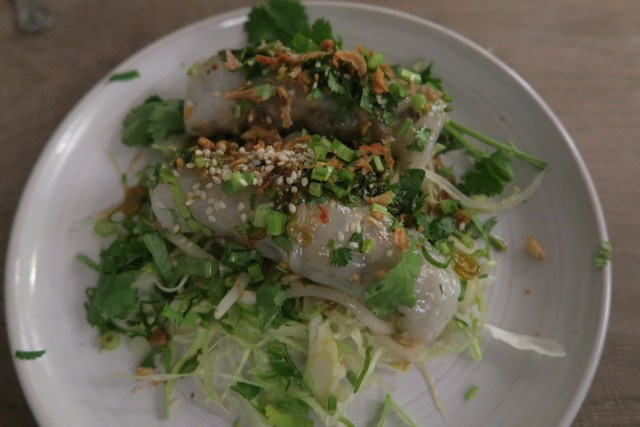 Little Viet Kitchen review - Banh Cuon steamed rice rolls