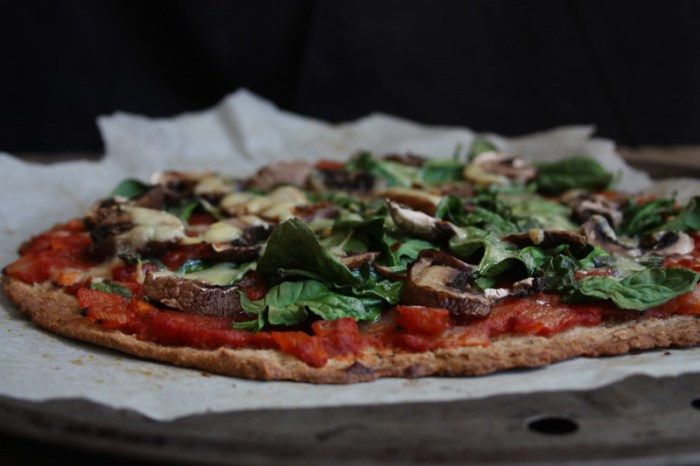 caitlin cox from the clean diary buckwheat pizza recipe