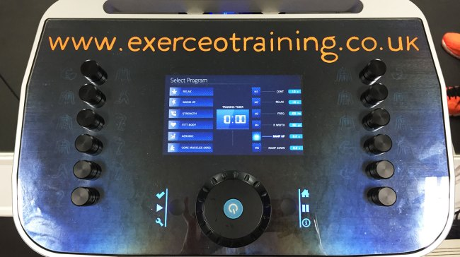 Exerceo Review - monitor