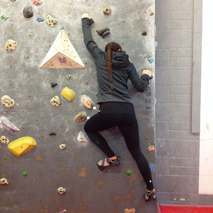 Bouldering at The Arch