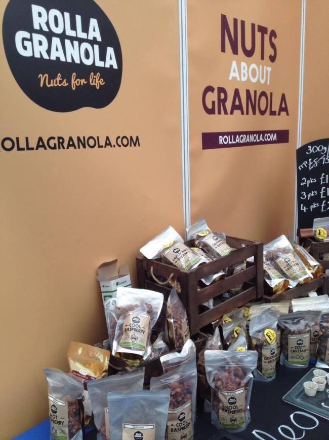 BeFit 2016 Best Brands - Rolla Granola