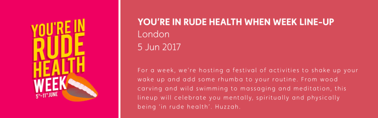 interview with rude health