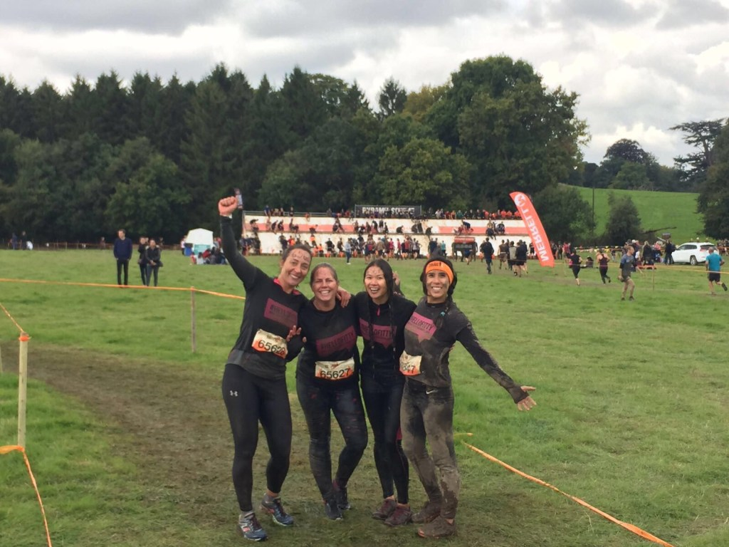 completing tough mudder