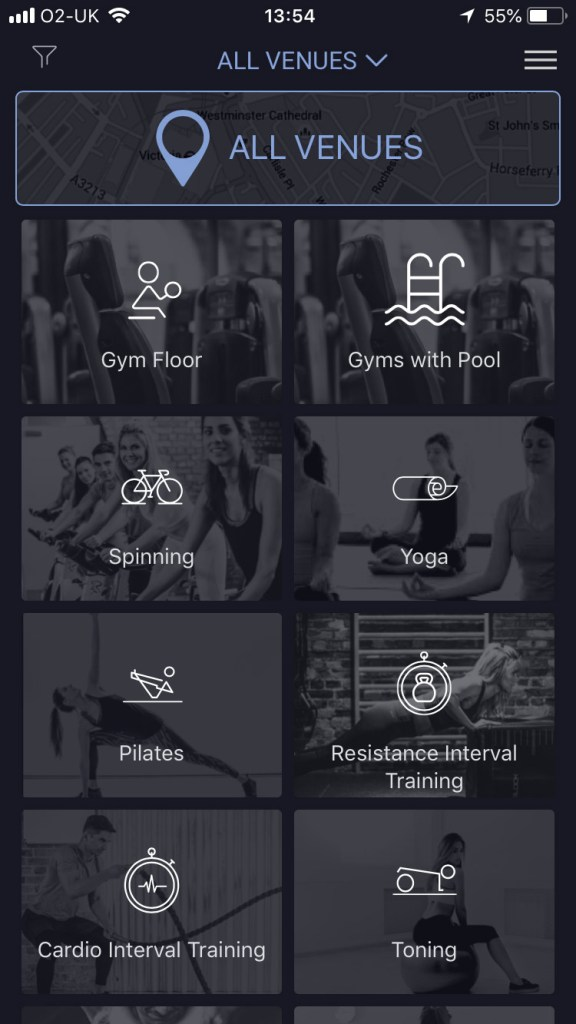 esquared fitness on demand review - screenshots