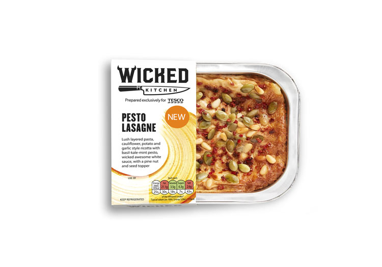 wicked healthy vegan lasagne