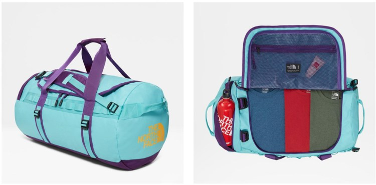North Face Duffel Bag - bethan taylor sporty christmas wish list