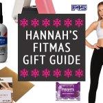 Hannah Fuller Fitmas Gift Guide