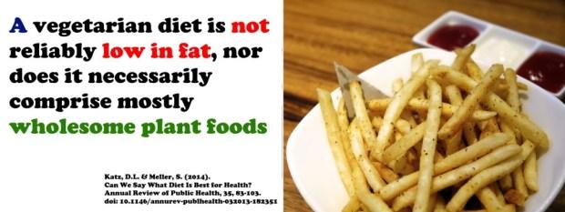 Vegetarian - healthy?