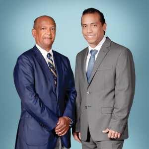 Omar Cruz-Diaz, MD, and Leon Smith-Harrison, MD