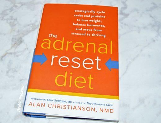 the Adrenal Reset Diet book by Alan Christianson, NMD - solutions for how to treat adrenal fatigue and possibly melasma