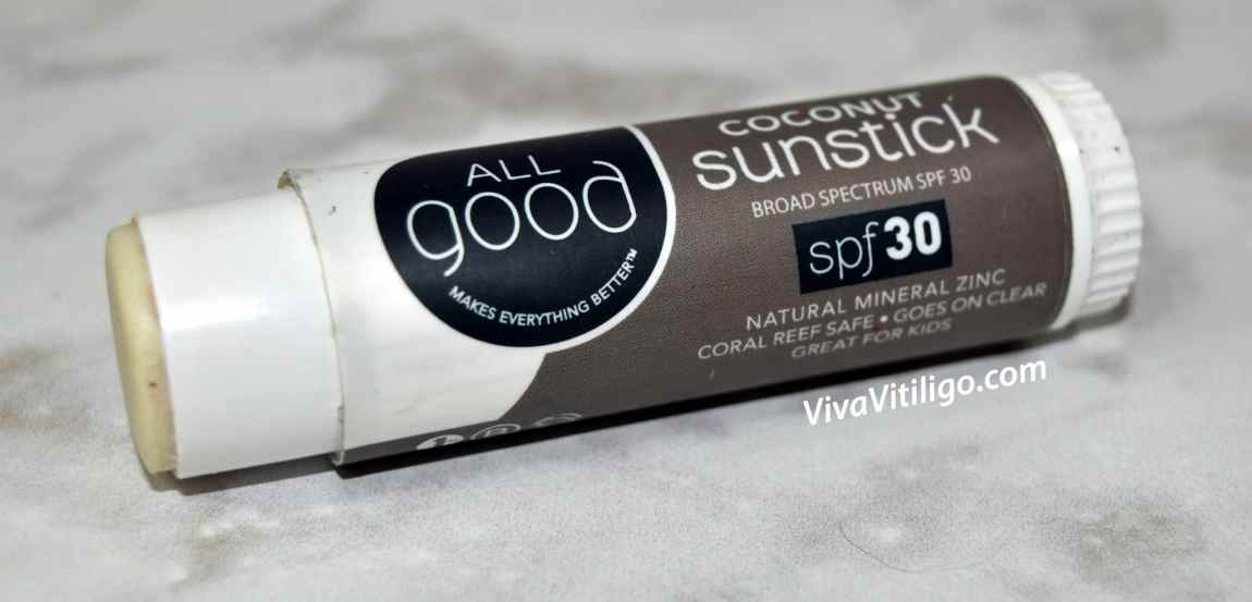 Picture of All Good SPF 30 Natural Mineral Zinc Sunstick