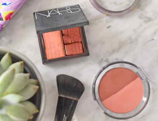 Picture of my NARS Dual Intensity blush in fervor for years, and a cleaner version I had the Etsy Shop Mother Bear's handmade create a custom blush inspired by this NARS blush (that is better than NARS orgasm by the way). This custom blush has such great pigmentation!