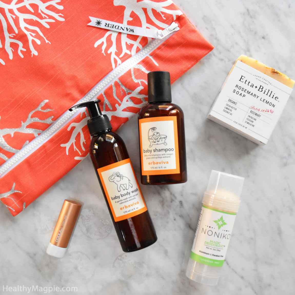 Pictures and reviews of my awesome haul from SeaMakers & Co sustainable gifts and beauty in La Jolla California. I love my Wander wet bag, Erbaviva baby products, Noniko natural deodorant, Coola Liplux and Etta + Billie.