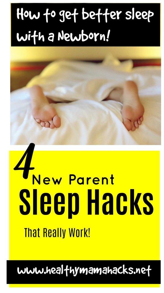 4 New Parent Sleep Hacks