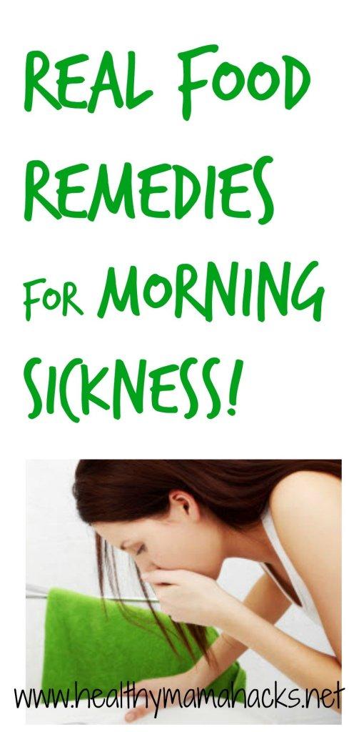Stop Morning Sickness