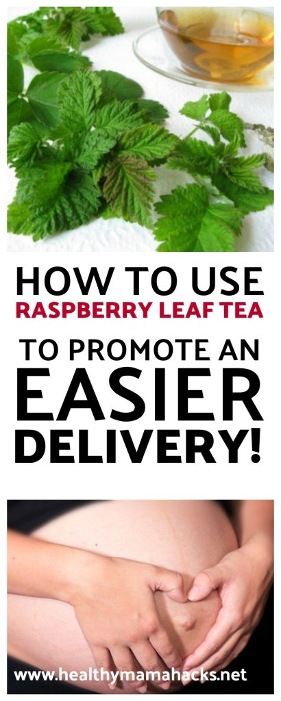 How to use raspberry leaf tea for an easier childbirth!