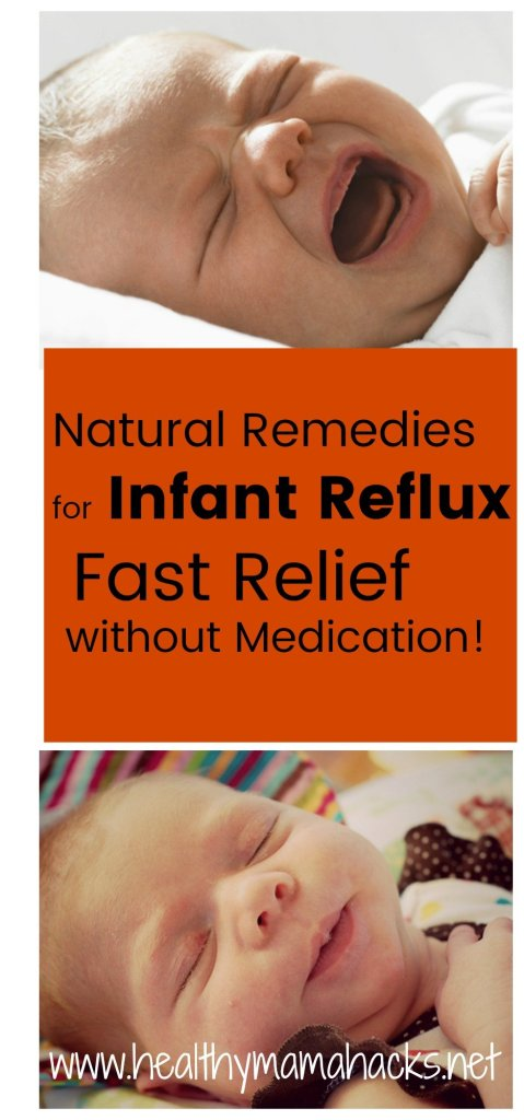 Natural Remedies for Infant Reflux