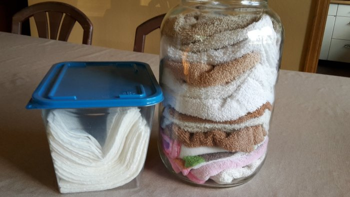 DIY Homemade Baby Wipes