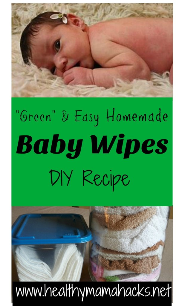 DIY Homemade Baby Wipes