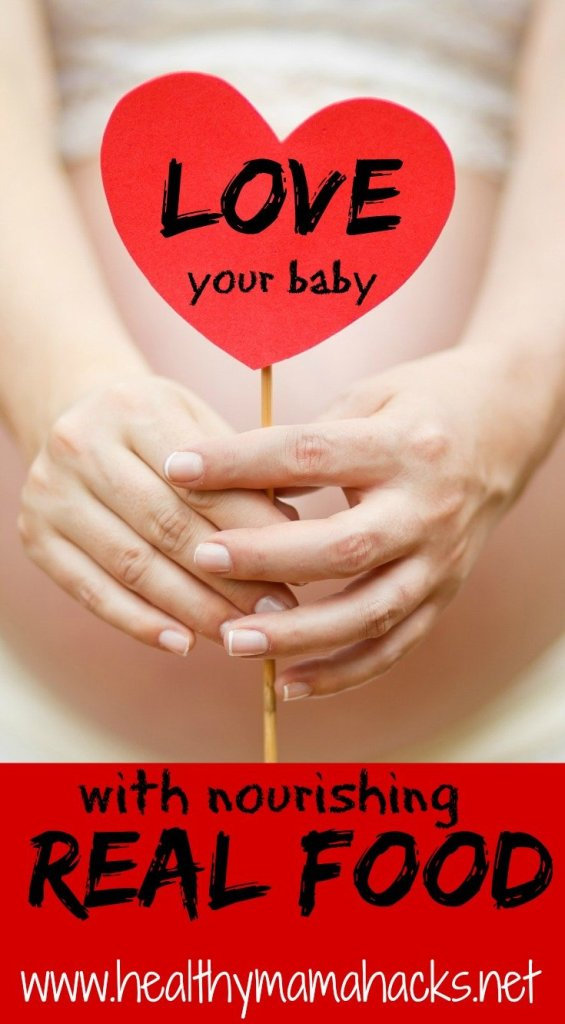 real food for pregnancy health