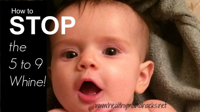 3 great tips to prevent a fussy baby in the evening hours!