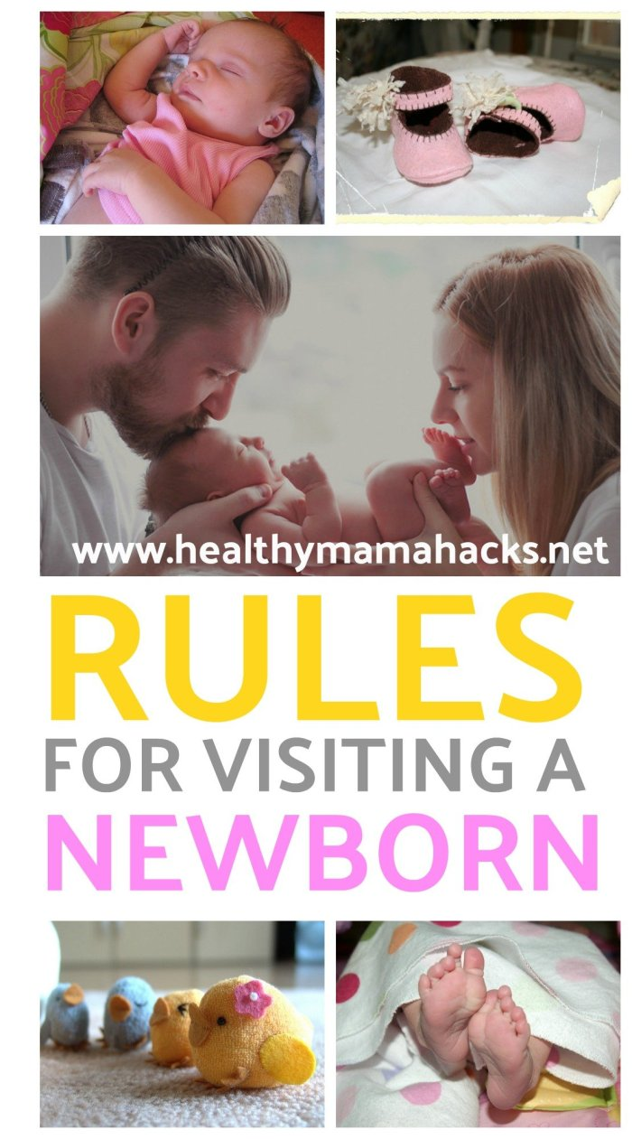 Are you following proper etiquette when visiting new parents? Learn these 25 rules for visiting a newborn. #newborn, #newparents, #baby, #postpartum
