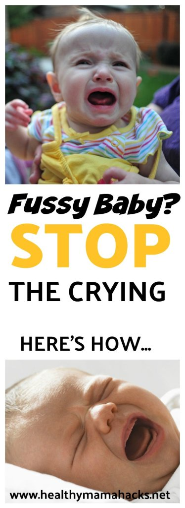 """Your fussy or """"colicky"""" baby may actually be an overtired baby instead. Find out more and how to help!"""