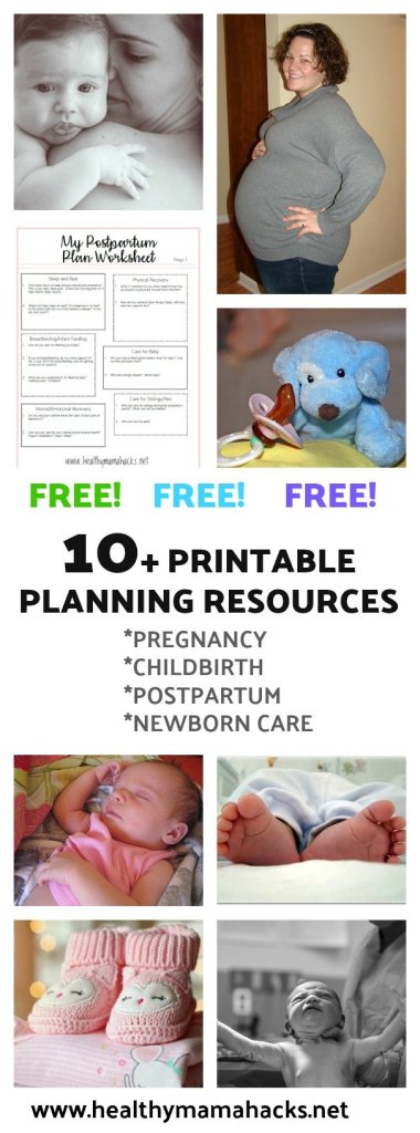 Free Planning Resources for New Moms