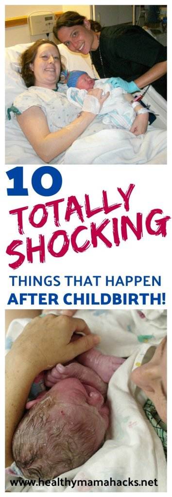 10 things that shocked me about recovery after childbirth!