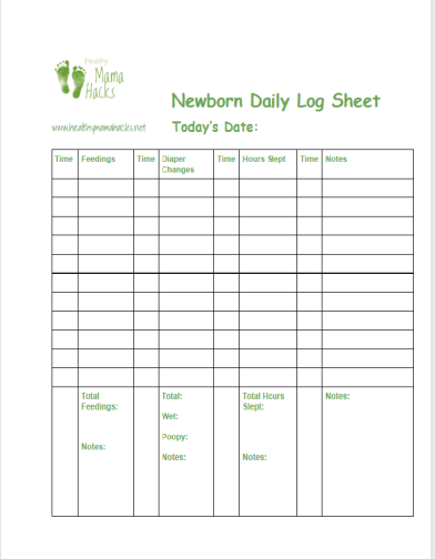 Download these great printable freebies for new parents!