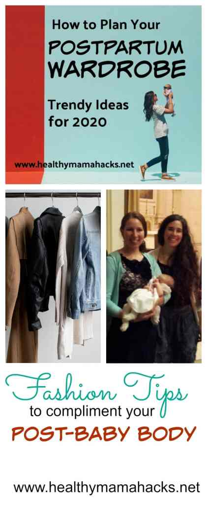 "Are you wondering what to wear during your postpartum recovery? Get these great wardrobe tips and ideas for new moms. Here's how you can ""dump the frump"" and look chic and stylish instead! Plus many great tips for dressing comfortable and cute during your 4th trimester!  #postpartum, #postpartumwardrobe, #4thtrimester, #nursingclothes, #newmomclothing"