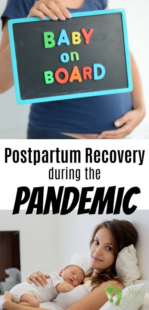 Here's hope for women dealing with postpartum recovery during the pandemic. A postpartum doula shares some great tips for how to embrace this time with your newborn even in the midst of social distancing and isolation. The 4th trimester is often a challenging time for new moms, but, with a postpartum plan and some creativity, you can get ready for a more joyful postpartum experience with your new baby. #babymoon, #postpartumplan, #postpartum, #pandemicpostpartum,