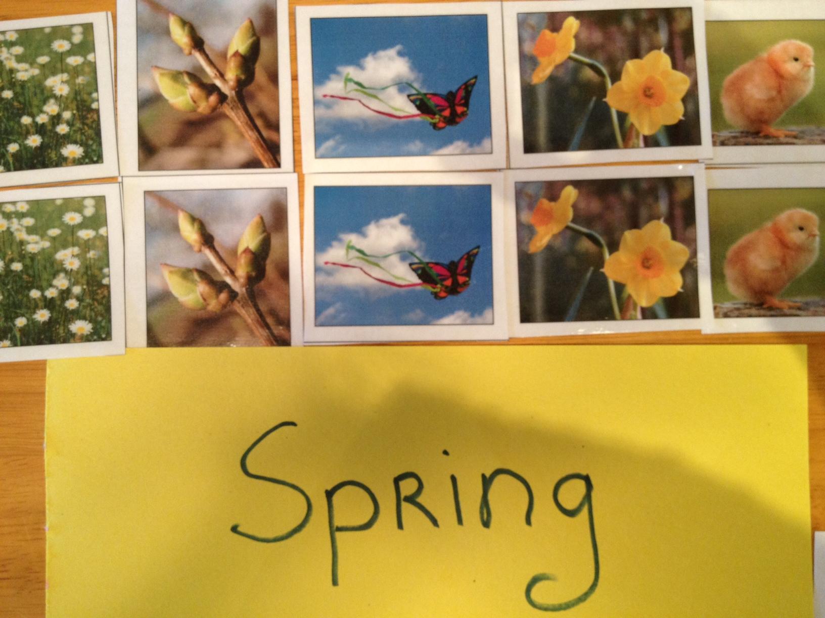 Spring Study For Preschool