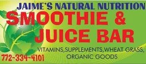 Jamie's Juice Bar Natural Nutrition