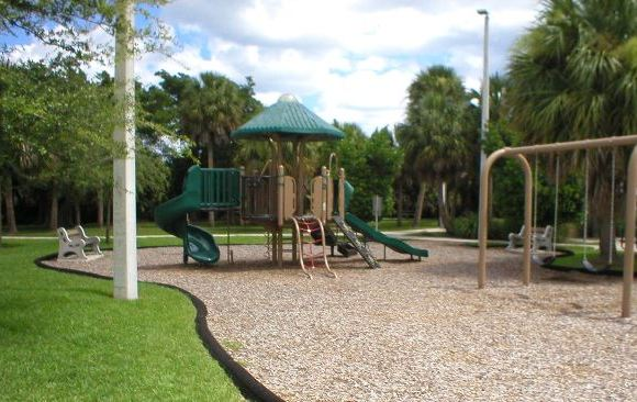 Childrens Playground At Burt Reynolds Park