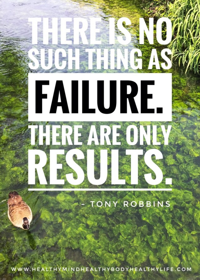 How to embrace failure and keep chasing your goals